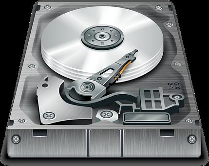 disque dur endommagé